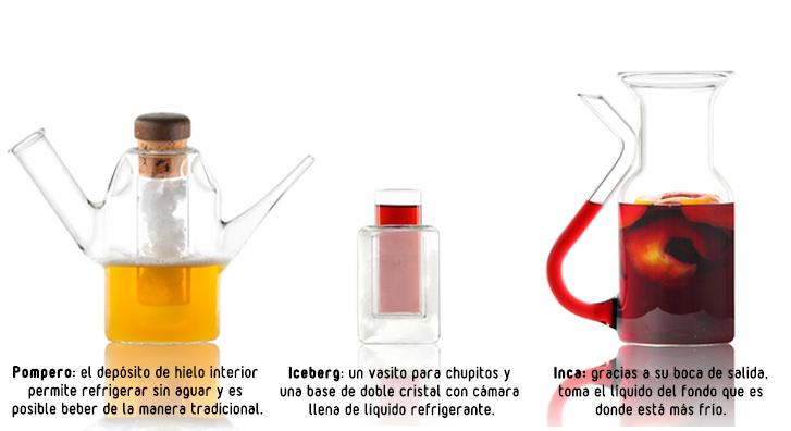 Bebidas refrescantes con Vitro Garuti