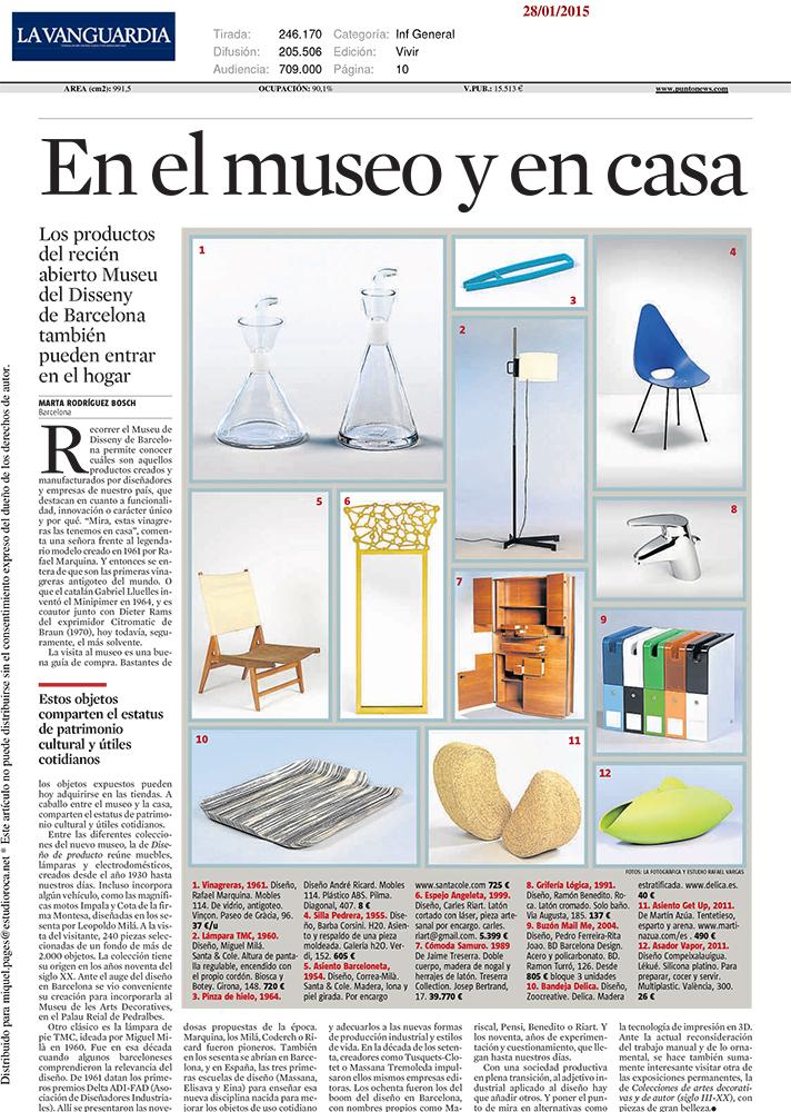 Biosca & Botey aparece en La Vanguardia