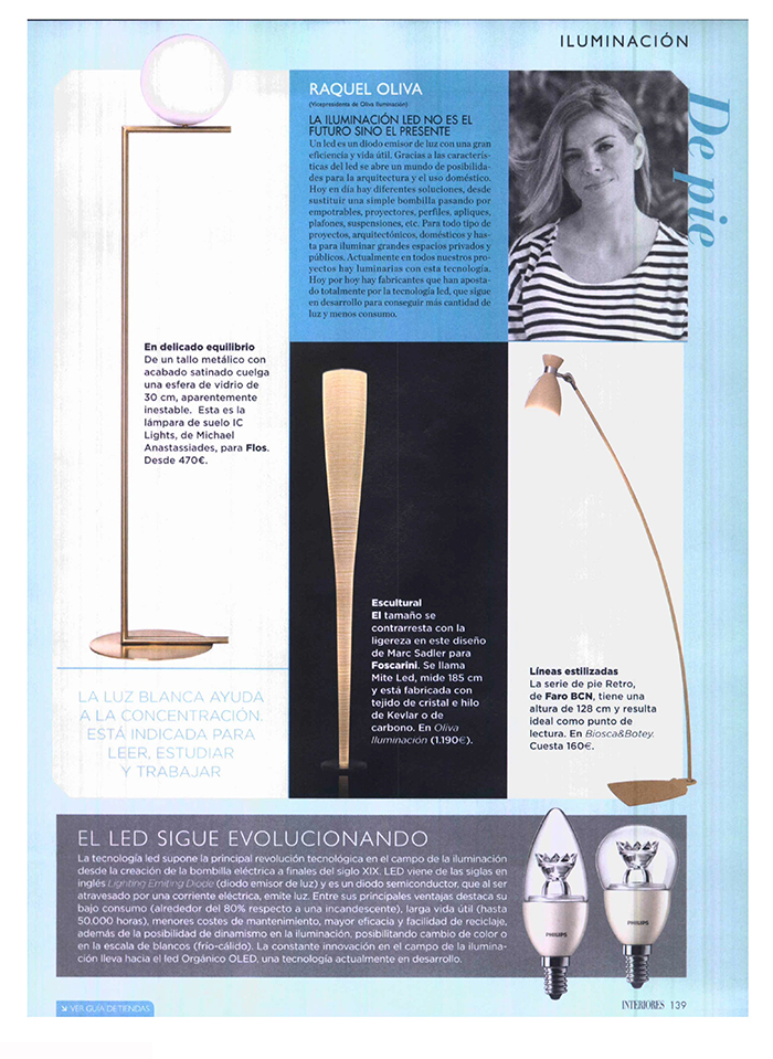 Biosca botey Revista interiores ideas y tendencias