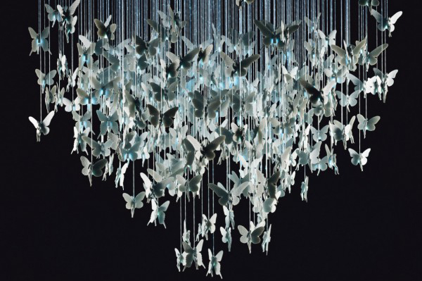 Chandelier by Bodo Sperlein