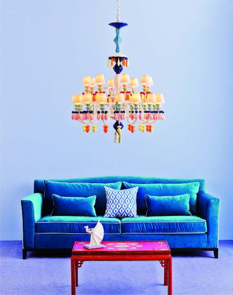 Lladro lamp