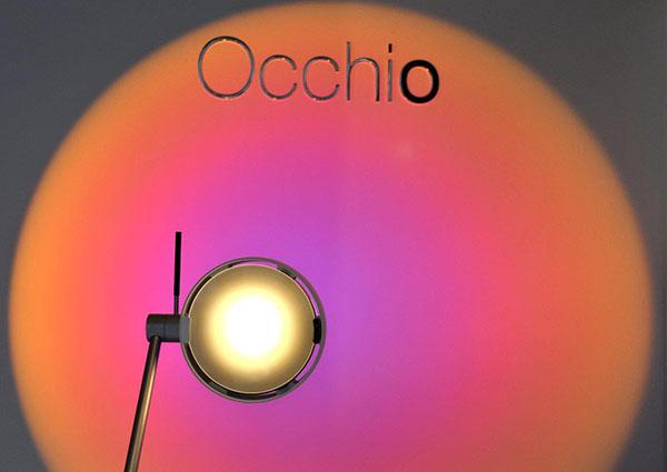 Detalle del cabezal de Sento Led by Occhio